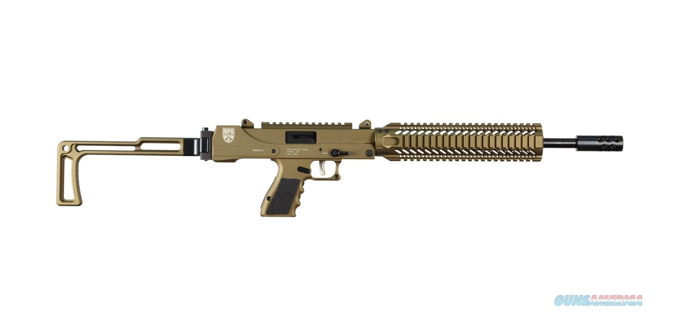 MASTERPIECE ARMS 9MM CARBINE***NEW IN BOX***BURNT BRONZE  Guns > Rifles > MasterPiece Arms Rifles > Defender