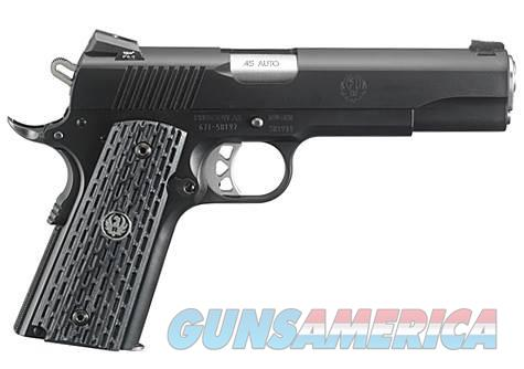 RUGER SR1911 NIGHT WATCHMAN 45 ACP***NEW IN BOX***  Guns > Pistols > Ruger Semi-Auto Pistols > 1911