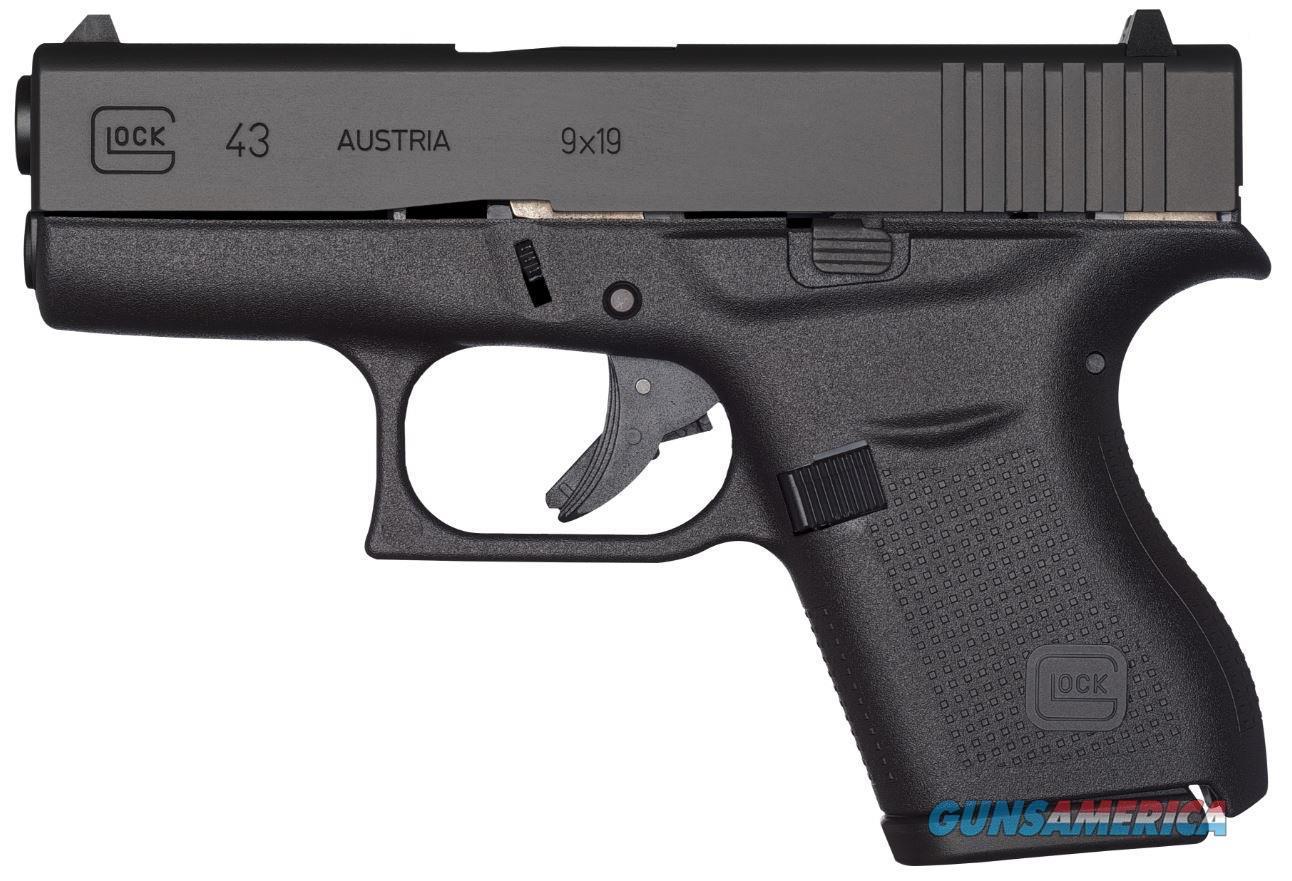 GLOCK 43 BLACK ***NEW IN BOX***  Guns > Pistols > Glock Pistols > 43