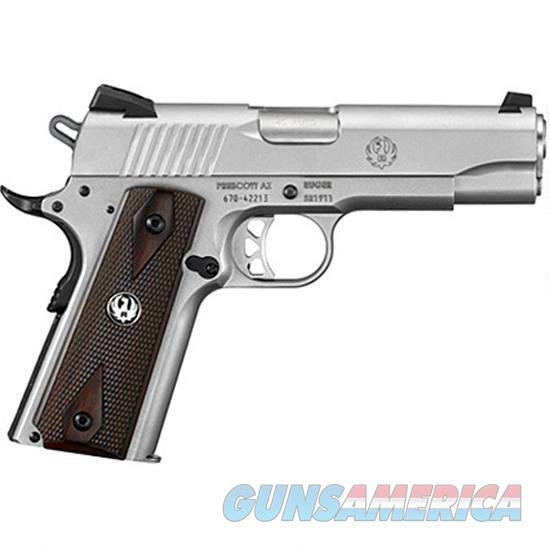 Ruger SR1911 Commander Semi Auto Handgun  Guns > Pistols > Ruger Semi-Auto Pistols > 1911