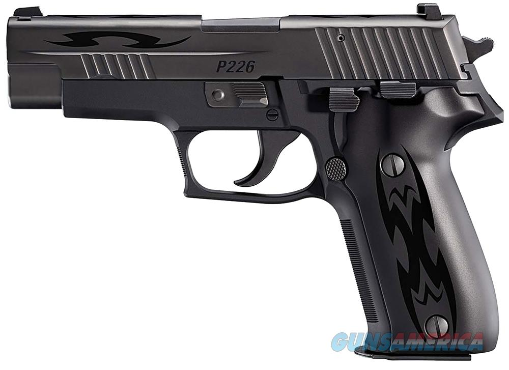 Sig Sauer E26-9-BSS-TRIBAL P226 Tribal Pistol 9mm 4.4in 15rd Black Night Sights  Guns > Pistols > Sig - Sauer/Sigarms Pistols > P226