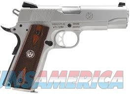 "Ruger SR1911 Compact 45 ACP, SS, 4.25""***NEW IN BOX***  Guns > Pistols > Ruger Semi-Auto Pistols > 1911"