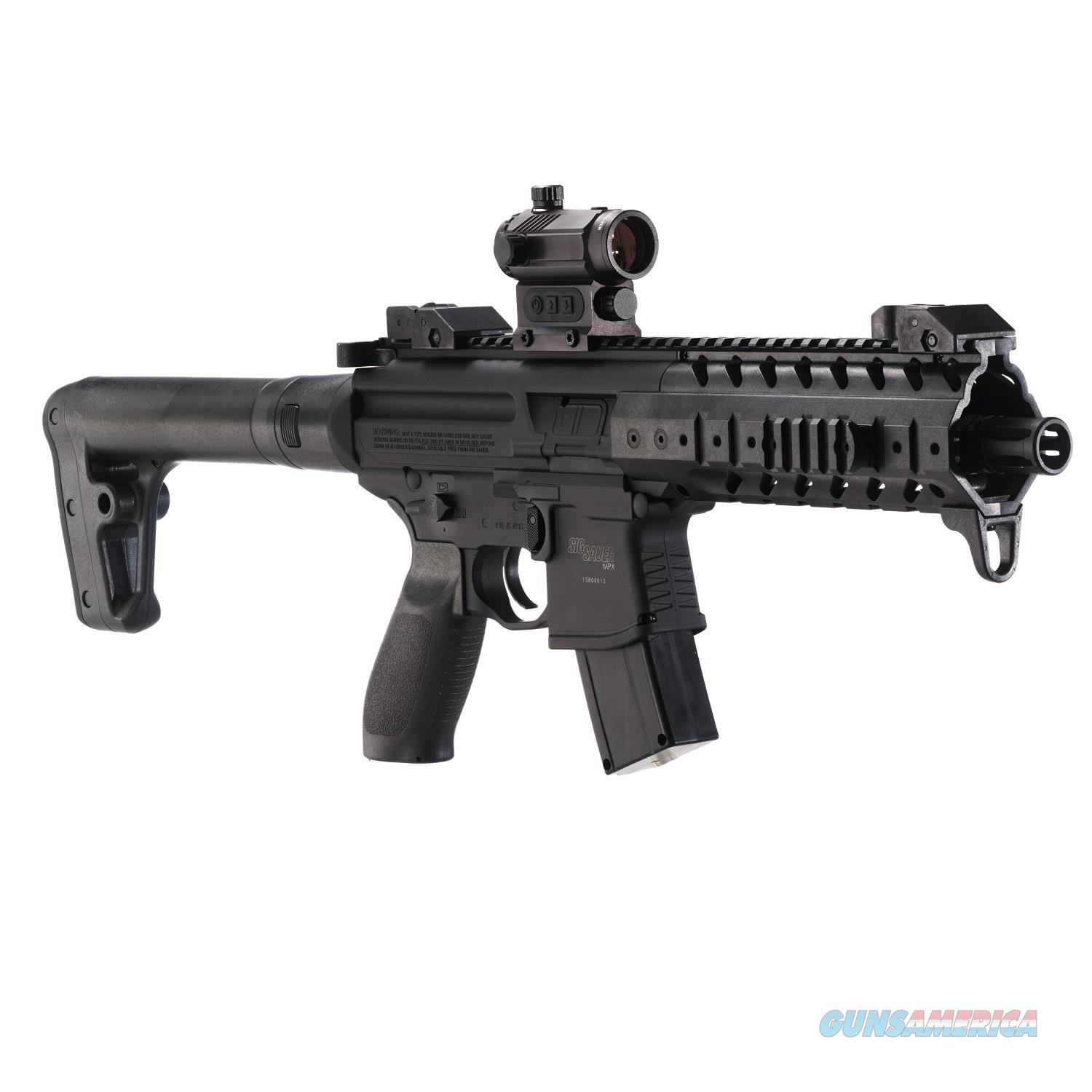 Sig Sauer MPX ASP RED DOT, CO2 Rifle .177 CAL Pellets , NEW IN BOX  Non-Guns > Air Rifles - Pistols > CO2 Rifle