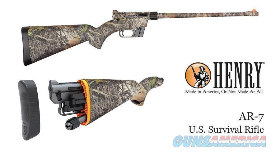 Henry H002C  CAMO U.S Survival AR-7 Semi-Automatic 22 Short/Long/Long Rifle ** NEW **  Guns > Rifles > Henry Rifle Company