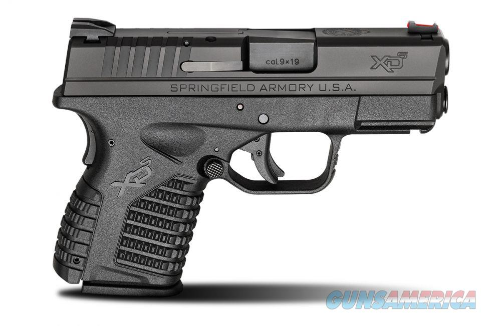 Springfield XDs 9mm 3.3 ESSENTIAL Black  Guns > Pistols > Springfield Armory Pistols > XD-S