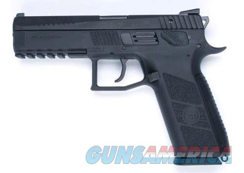 "CZ-USA CZ P09 DUTY 9MM Full Size DA/SA 9mm 19+1 4.53"" Poly Grip/Frame Black ** NEW IN BOX **  Guns > Pistols > CZ Pistols"