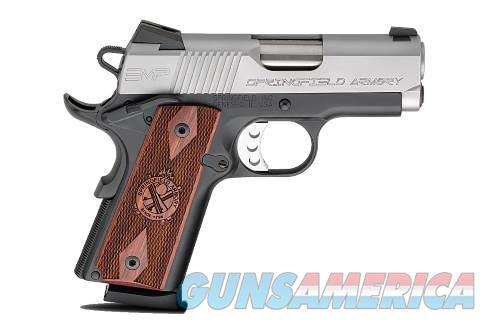 SPRINGFIELD ARMORY 1911-A1 EMP COMPACT LW 9MM  Guns > Pistols > Springfield Armory Pistols > 1911 Type
