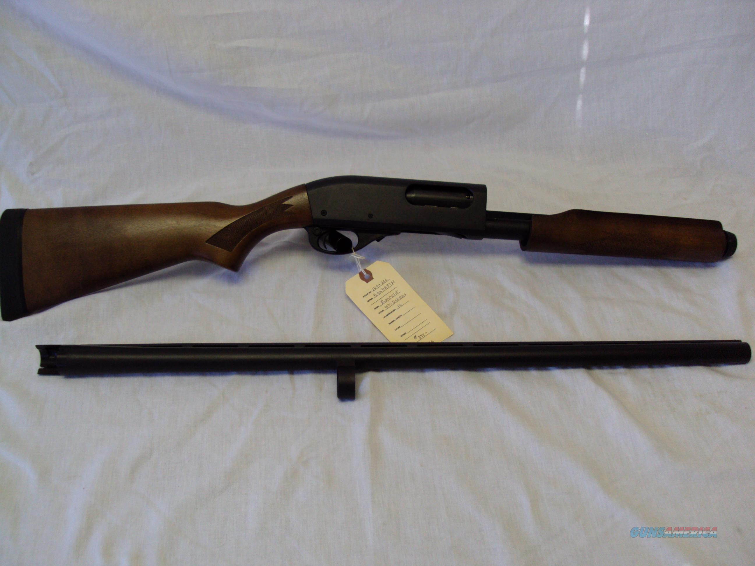 "Remington 870 Express Magnum 28""V.R. Rem/Choke (appears unfired) 2 3/4 & 3""  Guns > Shotguns > Remington Shotguns  > Pump > Hunting"