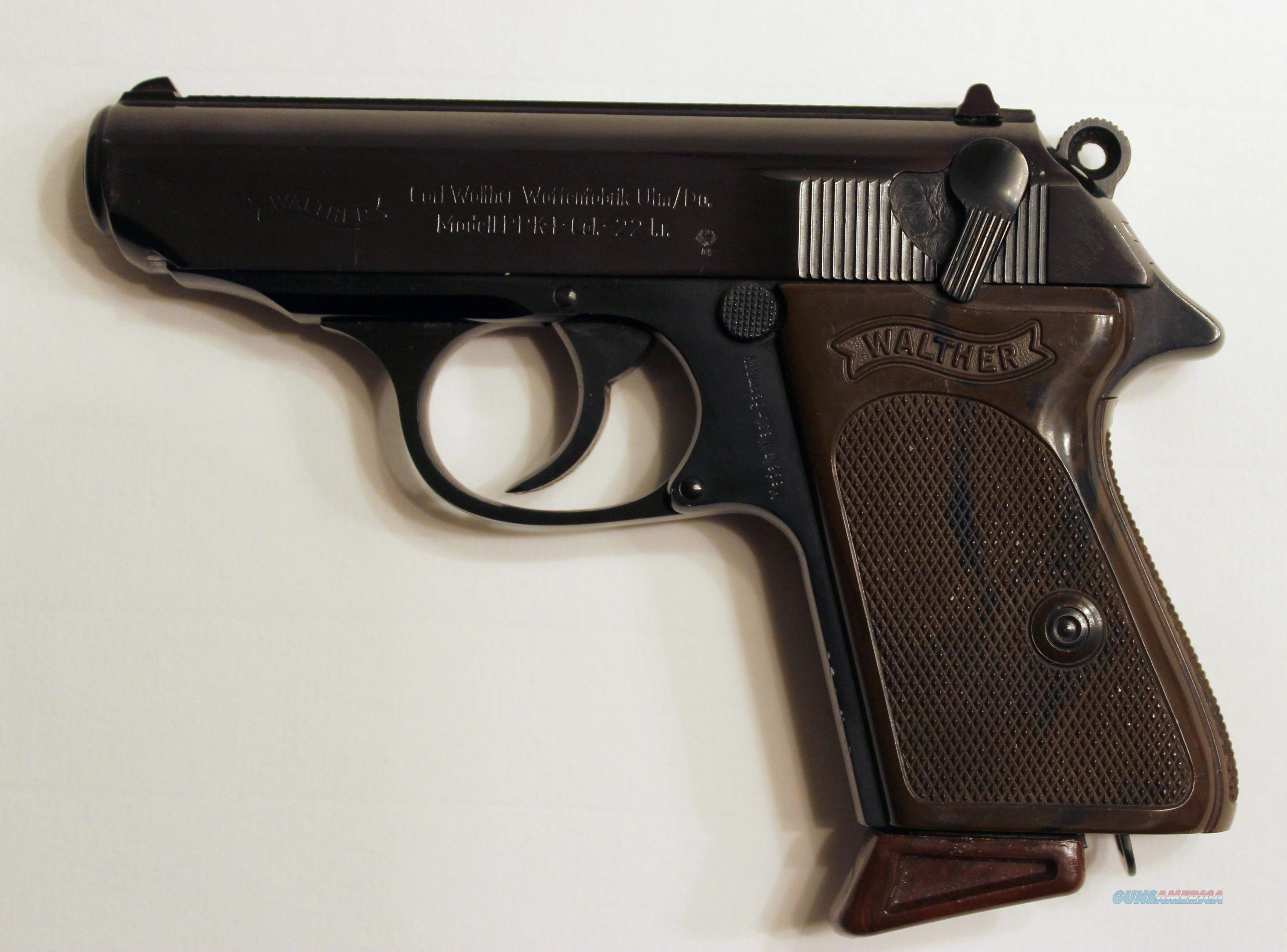West-German Walther PPK .22LR Manufactured 1967  Guns > Pistols > Walther Pistols > Post WWII > PPK Series