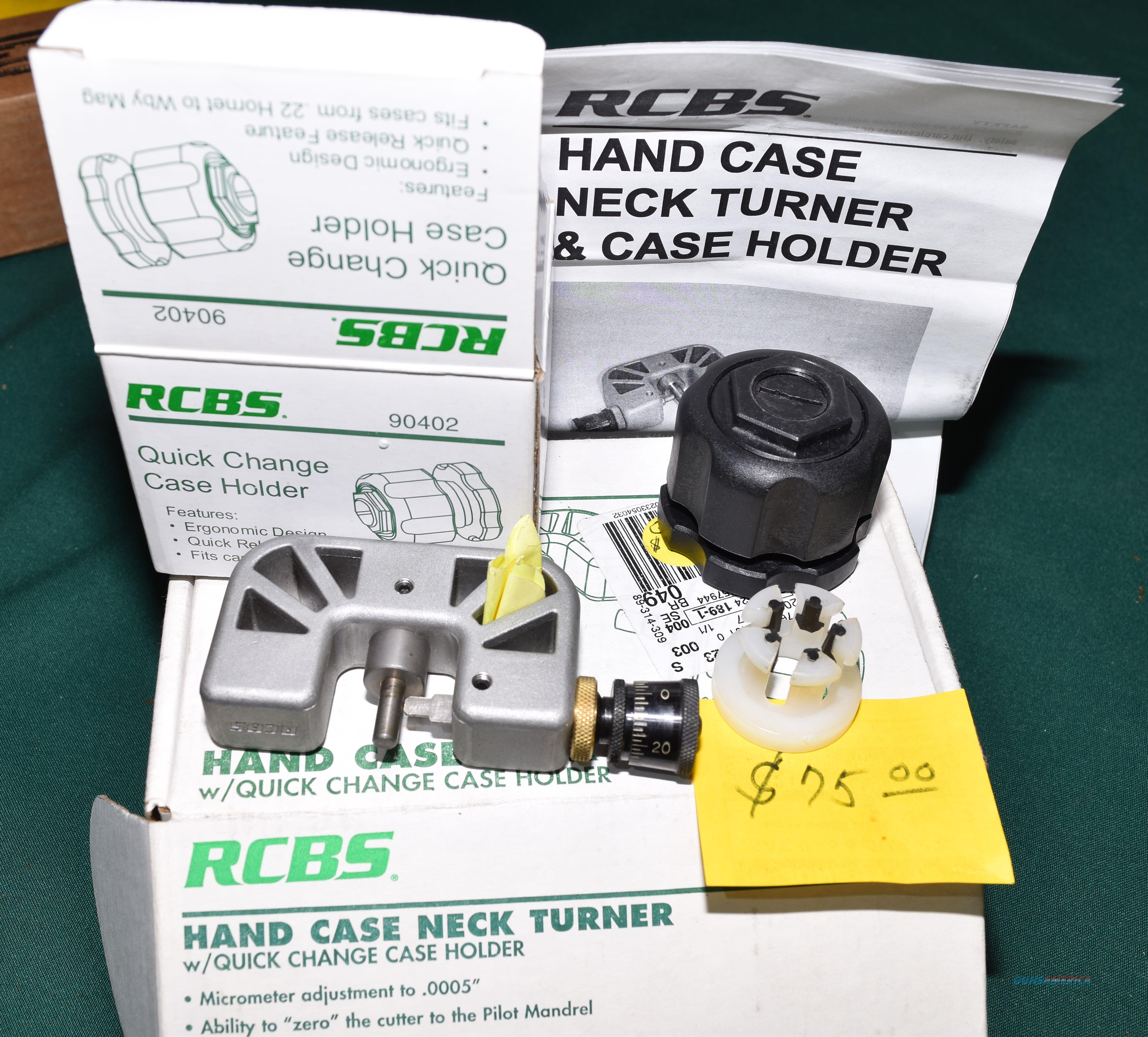 RCBS Hand Case Neck Turner and Case Holder REDUCED From $75  Non-Guns > Reloading > Equipment > Metallic > Misc
