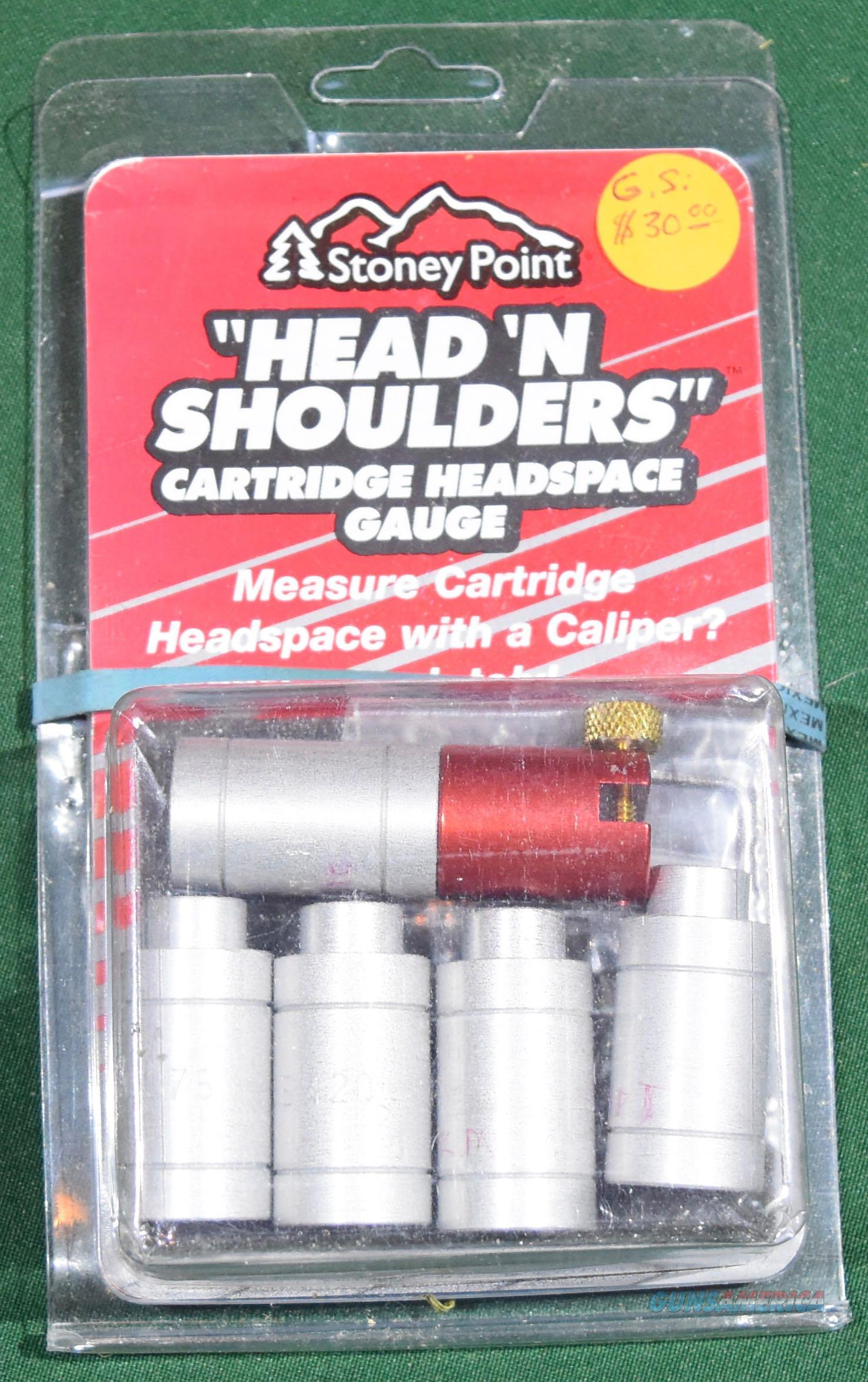 Stoney Point Head N Shoulders Cartridge Headspace Gauges Free Shipping  Non-Guns > Reloading > Equipment > Metallic > Misc