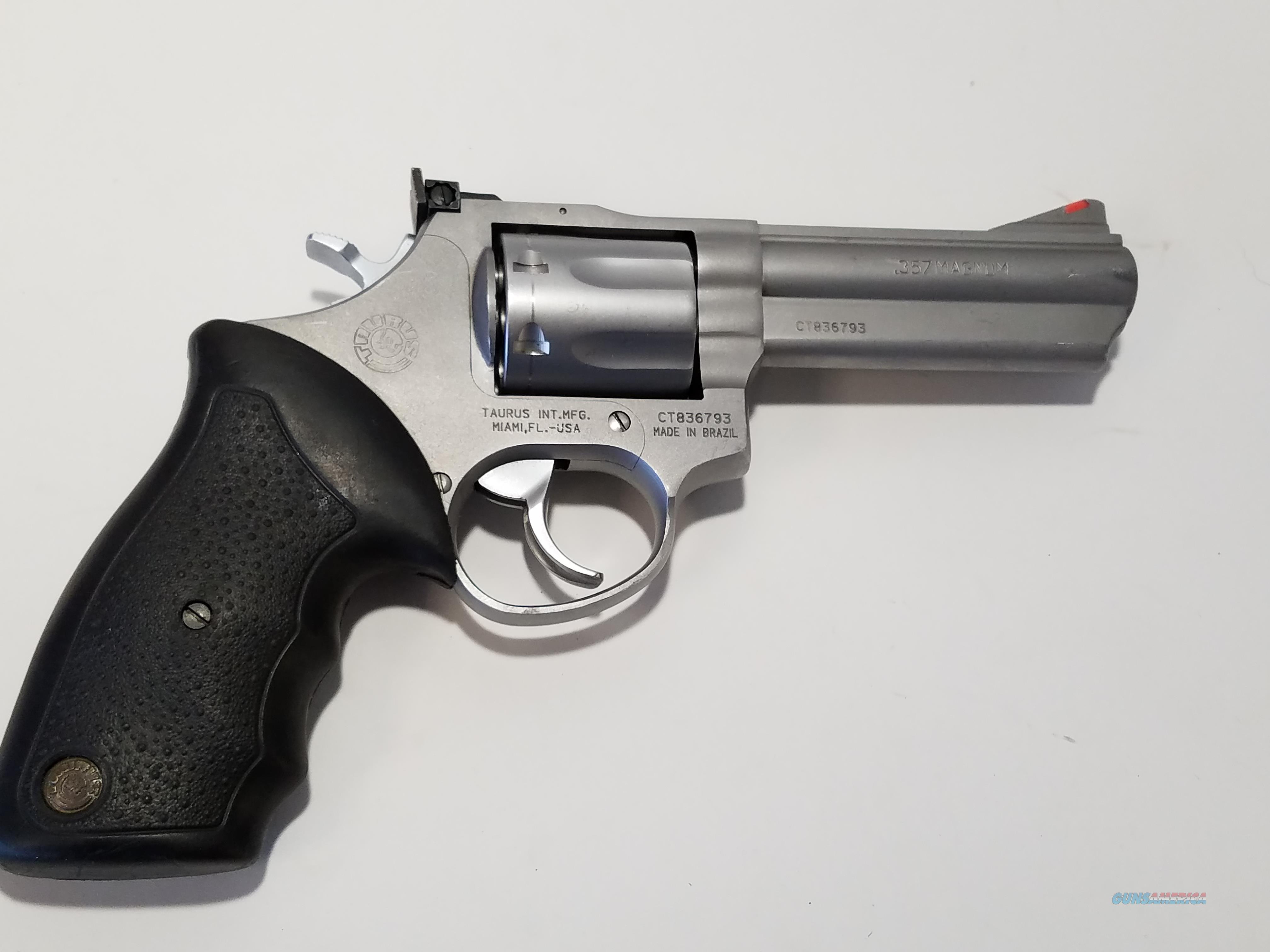 taurus model 66 357 magnum 4 39 39 7 shot revolver for sale. Black Bedroom Furniture Sets. Home Design Ideas