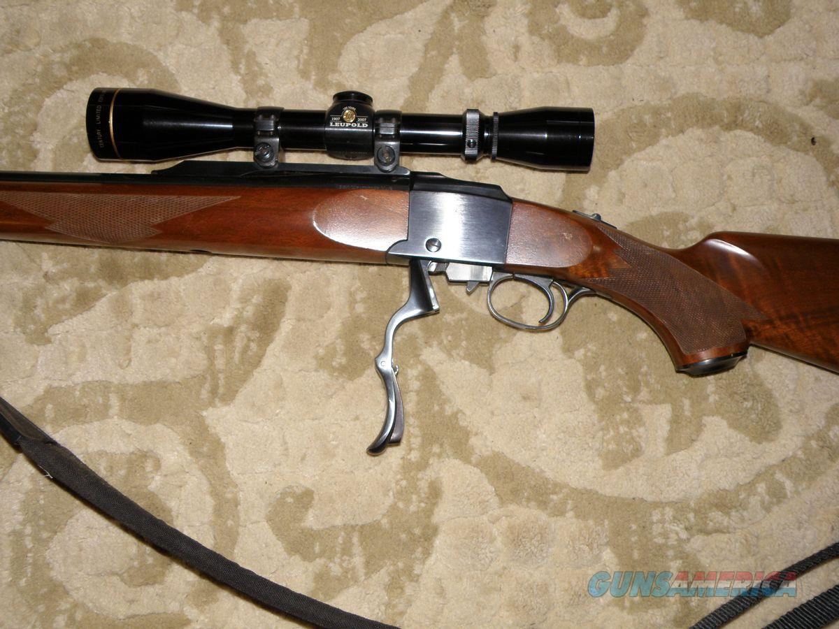 Ruger #1 .270 Weatherby Mag.  Guns > Rifles > Ruger Rifles > #1 Type