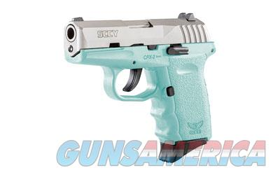 SCCY CPX-2 9MM 10RD 3.1 SAT/SCCY BLU - Free Shipping - No CC Fee  Guns > Pistols > SCCY Pistols > CPX2