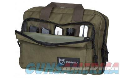 DRAGO GEAR DOUBLE PISTOL CASE GRN  Non-Guns > Ammunition