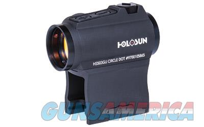HOLOSUN DUAL RETICLES SIDE BATTERY - FREE Shipping - No CC Fee!  Non-Guns > Scopes/Mounts/Rings & Optics > Rifle Scopes > Fixed Focal Length