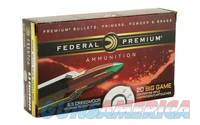 FED PRM 6.5CRD 120GR TRPHY CPPR 20RD  Non-Guns > AirSoft > Ammo