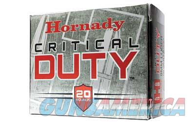 Hornady Critical Duty, 357 Sig, 135 Grain, FlexLock Duty, 20 Round Box 91296  Non-Guns > Ammunition