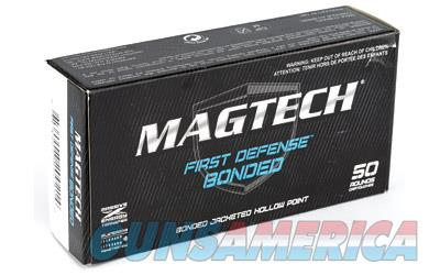 Magtech First Defense Bonded, 9MM 147 Grain, Bonded Hollow Point, 50 Round Box 9BONC  Non-Guns > Ammunition