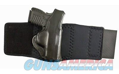 Desantis Die Hard Ankle Holster, Fits Springfield XDS, Left Hand, Black Leather 014PDY1Z0  Non-Guns > Holsters and Gunleather > Other
