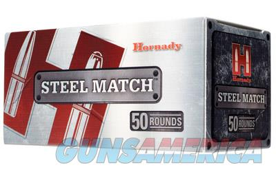 Hornady Steel Match, 223REM, 55 Grain, Hollow Point, Steel Case, 50 Round Box 80274  Non-Guns > Ammunition