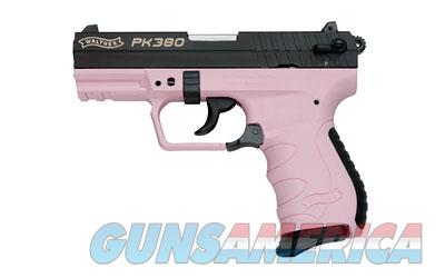 "WAL PK380 380ACP 3.6"" BL/PINK 8RD  Guns > Pistols > Walther Pistols > Post WWII > PK380"