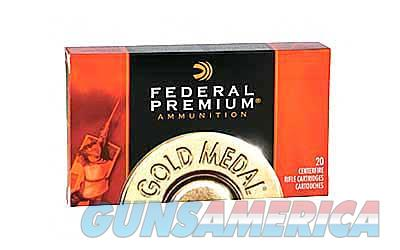 Federal Gold Medal Match, 308 Winchester, 168 Grain, Boat Tai, Hollow Point. 20 Round Box GM308M  Non-Guns > Ammunition