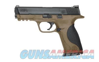 "S&W M&P 9MM 4.25"" BLK/FDE 17RD  Guns > Pistols > Smith & Wesson Pistols - Autos > Polymer Frame"