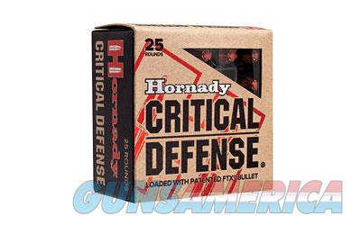 Hornady Critical Defense, 38 Special, 110 Grain, Hollow Point, 25 Round Box 90310  Non-Guns > Ammunition
