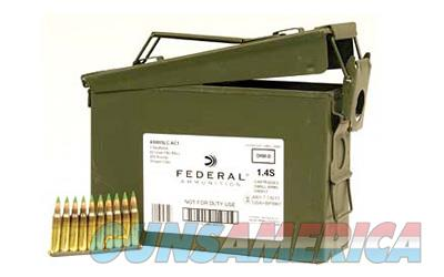 Federal XM855, 556NATO, 62 Grain, Full Metal Jacket, 420 Rounds on Stripper Clips in Ammunition Can XM855LC1AC1  Non-Guns > Ammunition