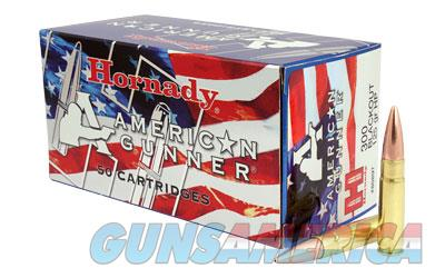 Hornady American Gunner, 300 AAC Blackout, 125 Grain, Hollow Point, 50 Round Box 80897  Non-Guns > Ammunition