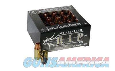 G2R RIP 9MM 92GR 20/500  Non-Guns > Ammunition