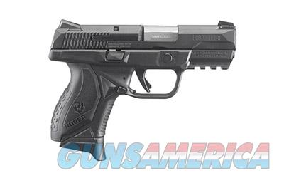 "RUGER AMERICAN 9MM 3.55"" 10RD BLK  Guns > Pistols > Ruger Semi-Auto Pistols > P-Series"