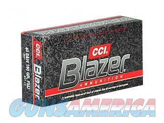 CCI/Speer Blazer, 40 S&W, 180 Grain, Full Metal Jacket, 50 Round Box 3591  Non-Guns > Ammunition