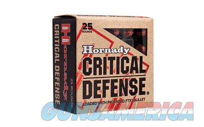 Hornady Critical Defense, 45ACP, 185 Grain, Hollow Point, 20 Round Box 90900  Non-Guns > Ammunition