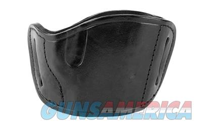 BULLDOG MOLDED LEATHER BLK RH MED  Non-Guns > Holsters and Gunleather > Other