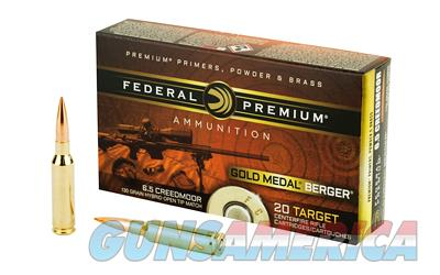 FED GOLD MDL 6.5CREED 130GR BERG 20  Non-Guns > AirSoft > Ammo