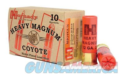 "Hornady Coyote, 12 Gauge, 3"" Chamber, 00 Buck, 10 Round Box 86224  Non-Guns > Ammunition"