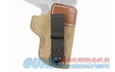 "Desantis Sof-Tuck Inside The Pant Holster, Fits 1911 With 3"" Barrel, Right Hand, Tan Leather 106NA79Z0  Non-Guns > Holsters and Gunleather > Other"