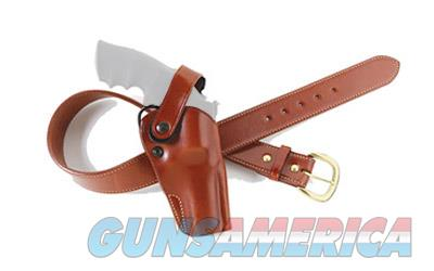 "Galco Outdoorsman Belt Holster, Fits S&W L Frame 4"" Barrel, Right Hand, Tan DAO104  Non-Guns > Holsters and Gunleather > Other"