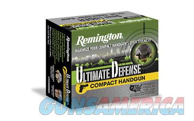 Remington Compact Ultimate Home Defense, 9MM, 124 Grain, Brass Jacketed Hollow Point, 20 Round Box 28963  Non-Guns > Ammunition