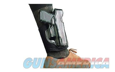 Desantis Die Hard Ankle Holster, Fits Glock 43, Left Hand,Black Leather 014PD8BZ0  Non-Guns > Holsters and Gunleather > Other