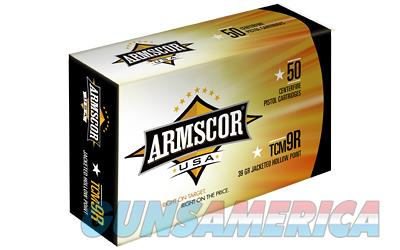 Armscor 22TCM9R, 39 Grain, Jacketed Hollow Point, 50 Round Box FAC22TCMNR-1N  Non-Guns > Ammunition