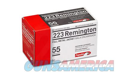 Aguila Ammunition Rifle  223 Rem  55 Grain  Full Metal Jacket  50 Round Box 1E223110 - $9 Flat Rate Shipping on ANY Size Order  Non-Guns > Ammunition