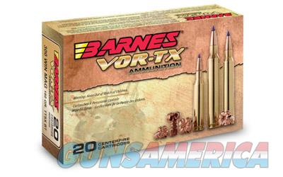 Barnes VOR-TX, 300AAC Blackout, 110 Grain, Tipped Triple Shock X, Flat Base, Lead Free, 20 Round Box BB300AAC1  Non-Guns > Ammunition