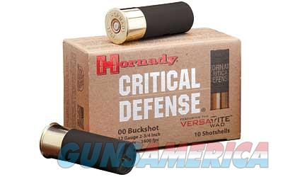 HRNDY 12GA 00 BUCK CRT DFNSE 10/100  Non-Guns > Ammunition