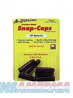 AZOOM SNAP CAPS 38SPL 6/PK  Non-Guns > Miscellaneous