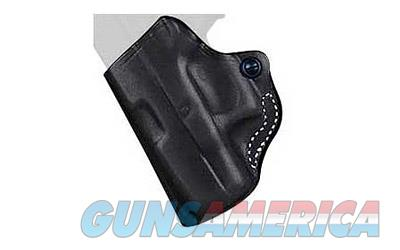 Desantis Mini Scabbard Belt Holster, Fits Glock 26/27, Left Hand, Black Leather 019BBE1Z0  Non-Guns > Holsters and Gunleather > Other