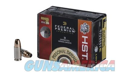 Federal Premium, 9MM, 150 Grain, Jacketed Hollow Point, 20 Round Box P9HST5S  Non-Guns > Ammunition