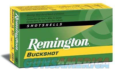"Remington Express, 12 Gauge, 2.75"", 00 Buck, 4 Dram, Buckshot, 9 Pellets, 5 Round Box 20620  Non-Guns > Ammunition"